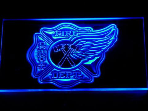 Fire Department Detroit LED Neon Sign