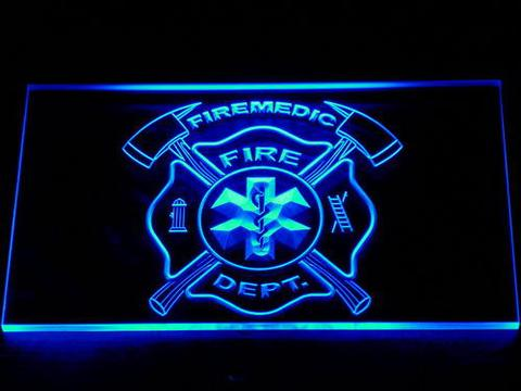 Fire Department Fire Medic LED Neon Sign