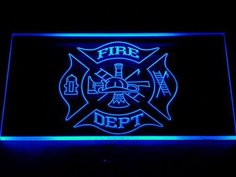 Fire Department LED Neon Sign