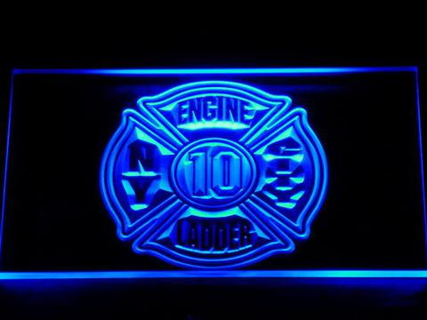 Fire Department New York LED Neon Sign