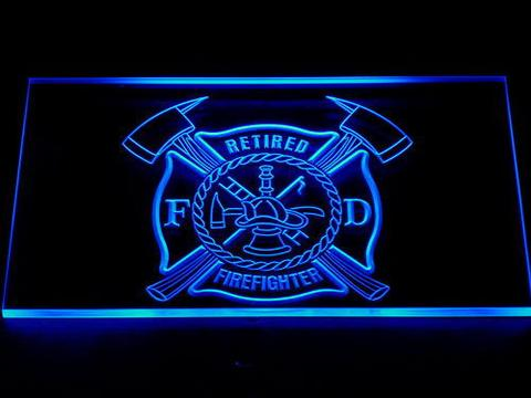 Fire Department Retired Fire Fighter LED Neon Sign