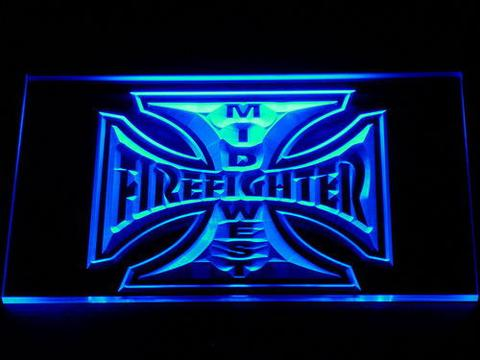 Fire Fighter Mid West LED Neon Sign