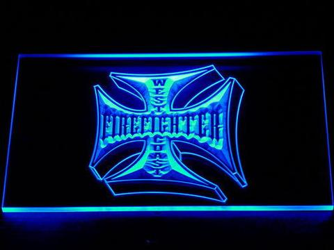 Fire Fighter West Coast LED Neon Sign