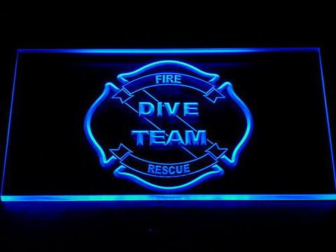 Fire Department San Francisco LED Neon Sign