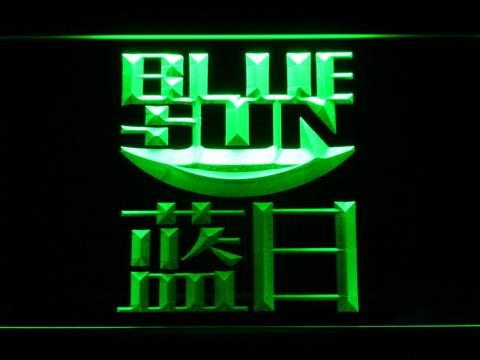 Firefly Blue Sun LED Neon Sign
