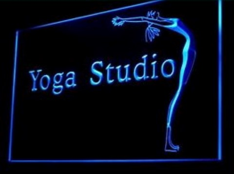 Fitness Yoga Studio LED Neon Sign