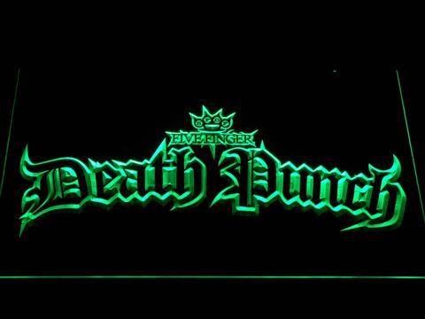 Five Finger Death Punch Gothic LED Neon Sign