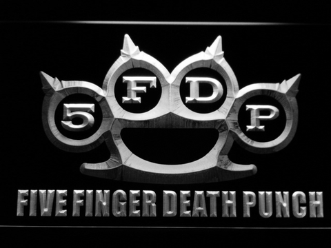 Five Finger Death Punch LED Neon Sign