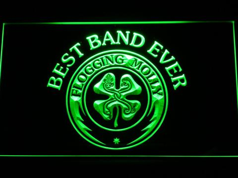 Flogging Molly Best Band Ever LED Neon Sign