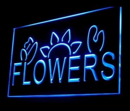 Flower Shop Florist LED Neon Sign