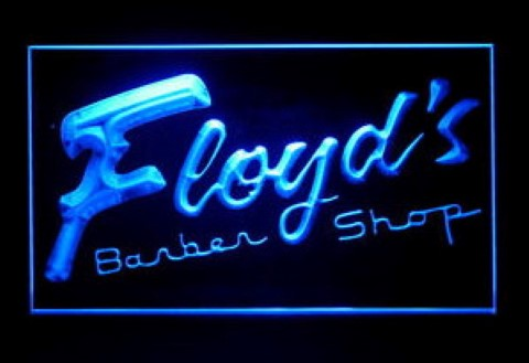 Floyd the Barber LED Neon Sign