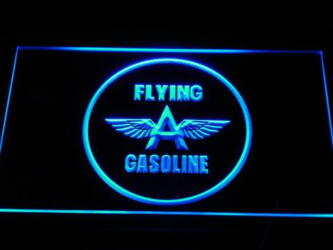 Flying A Gasoline LED Neon Sign
