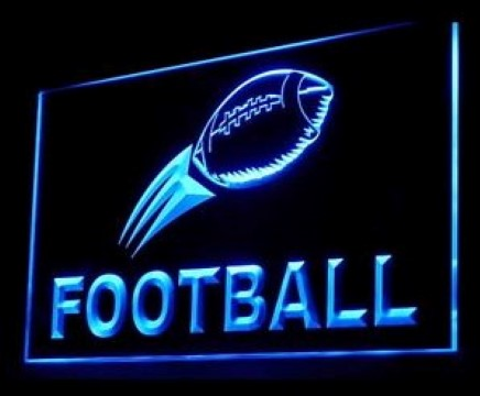 Football Supplies Shop LED Neon Sign
