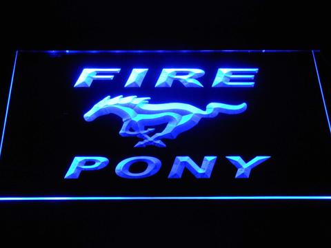 Ford Fire Pony LED Neon Sign