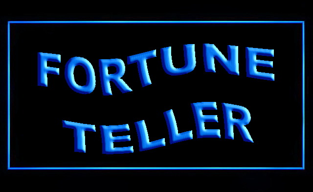 Fortune Teller LED Neon Sign