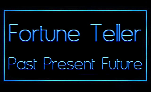 Fortune Teller Past Present Future LED Neon Sign