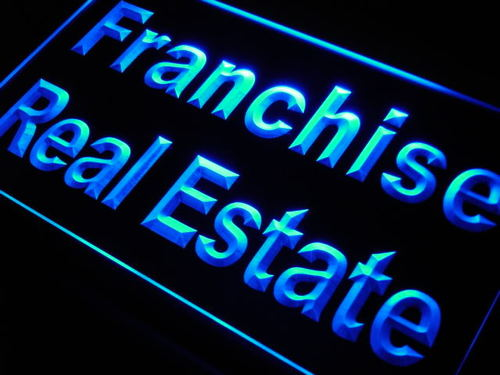Franchise Real Estate Neon