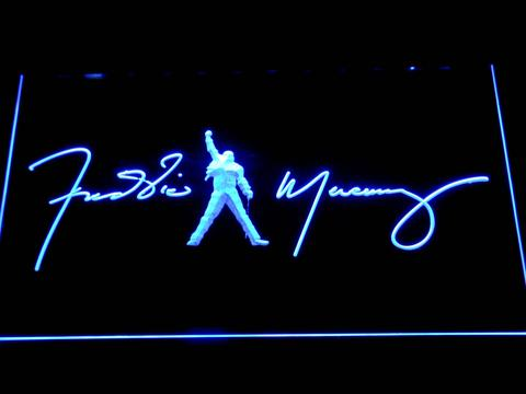 Freddie Mercury Signature LED Neon Sign