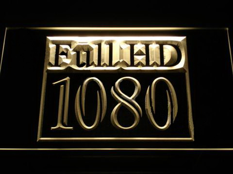 Full HD 1080p LED Neon Sign