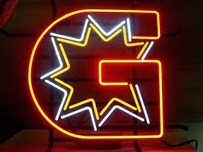 G Star Classic Neon Light Sign 17 x 14