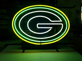 Green Bay Packers Classic Neon Light Sign 17x14