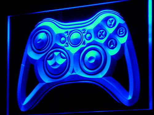 Game Controller Console LED Sign