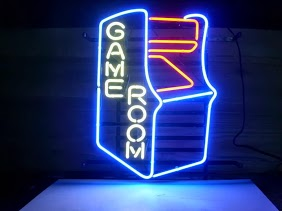 Game Room Arcade Classic Neon Light Sign 17 x 14