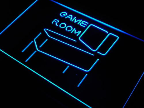 Game Room Pinball Display Decor Neon Light Sign
