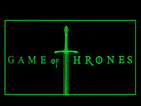 Game of Thrones LED Neon Sign