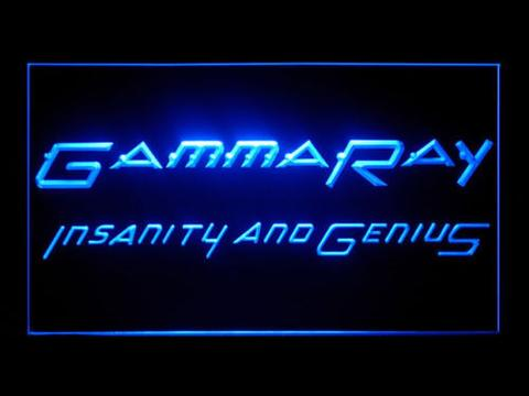 Gamma Ray Insanity And Genius LED Neon Sign