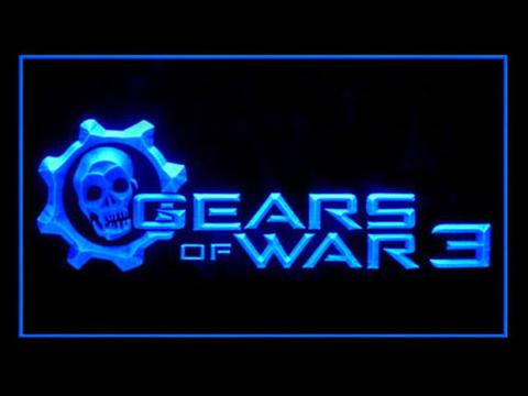 Gears Of War 3 LED Neon Sign