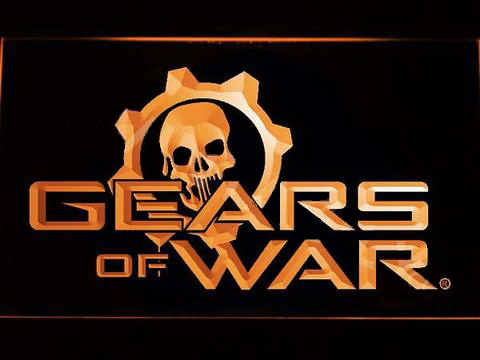 Gears of War LED Neon Sign