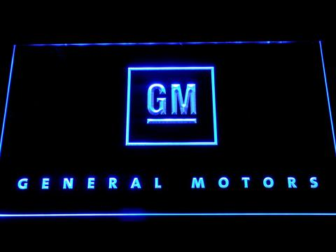 General Motors LED Neon Sign