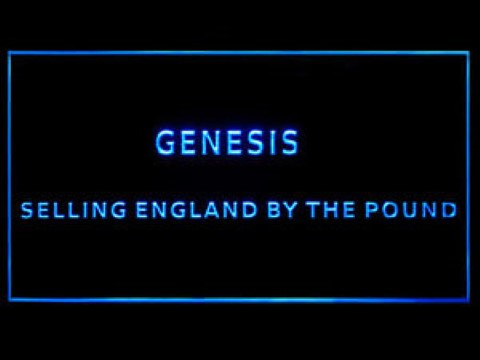 Genesis Selling England By The Pound LED Neon Sign
