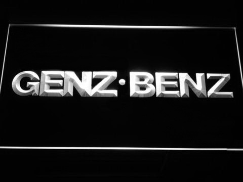 Genz Benz LED Neon Sign