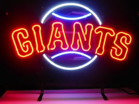Giants Classic Neon Light Sign 17 x 14
