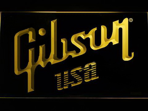 Gibson USA LED Neon Sign