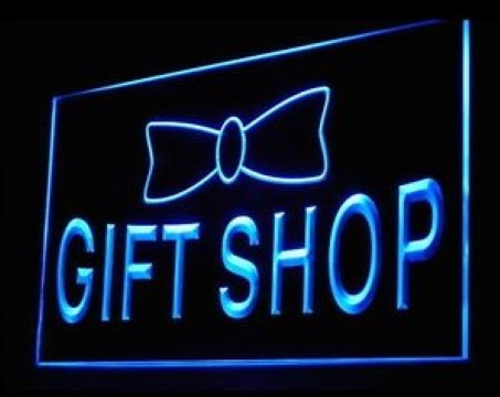 Gift Shop Souvenir LED Neon Sign