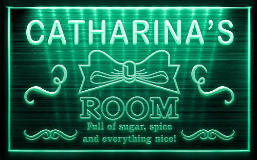 Girl Princess Room Custom Name Neon Light Sign