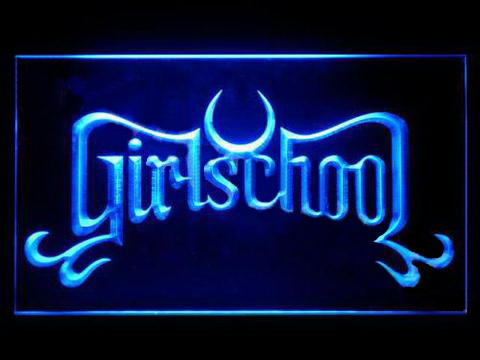 Girlschool LED Neon Sign