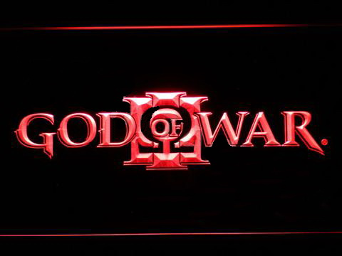 God Of War 3 LED Neon Sign