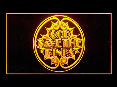 God Save The Kinks LED Neon Sign