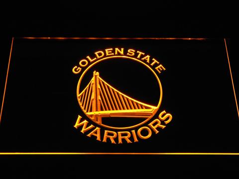 Golden State Warriors Bay Bridge Logo LED Neon Sign