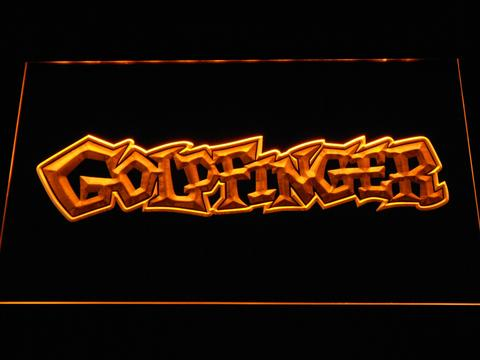 Goldfinger LED Neon Sign