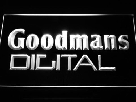 Goodmans Digital LED Neon Sign