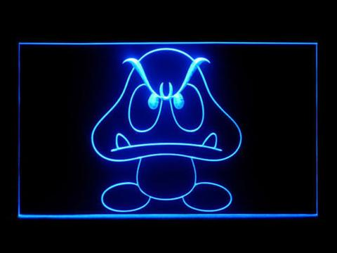 Goomba Super Mario Bros LED Neon Sign