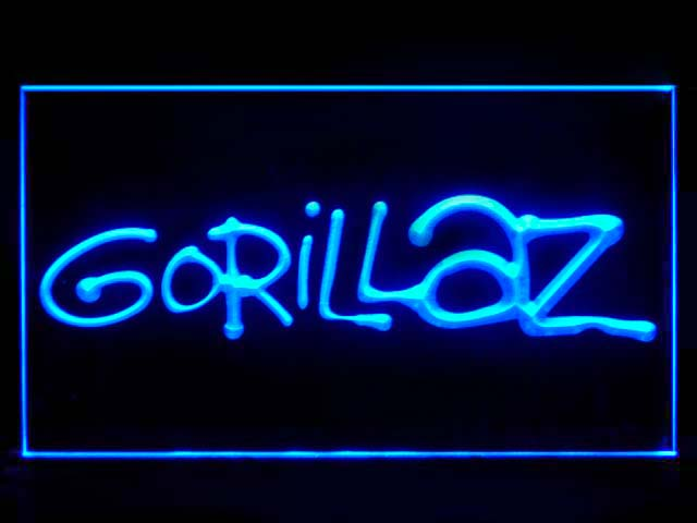 Gorillaz Band Neon Light Sign