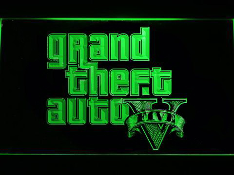 Grand Theft Auto V LED Neon Sign