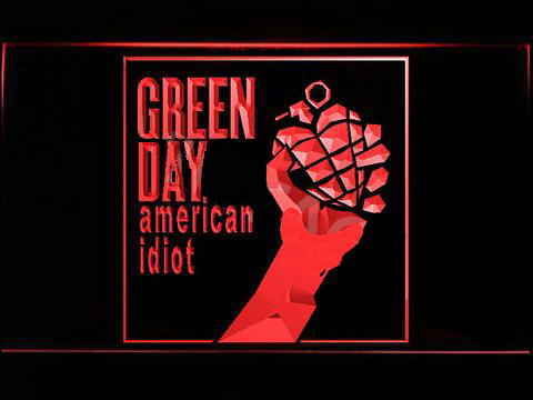 Green Day American Idiot LED Neon Sign