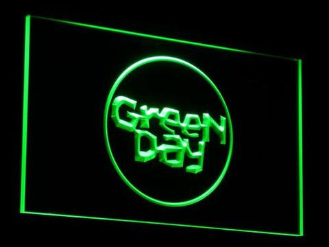 Green Day Kerplunk LED Neon Sign